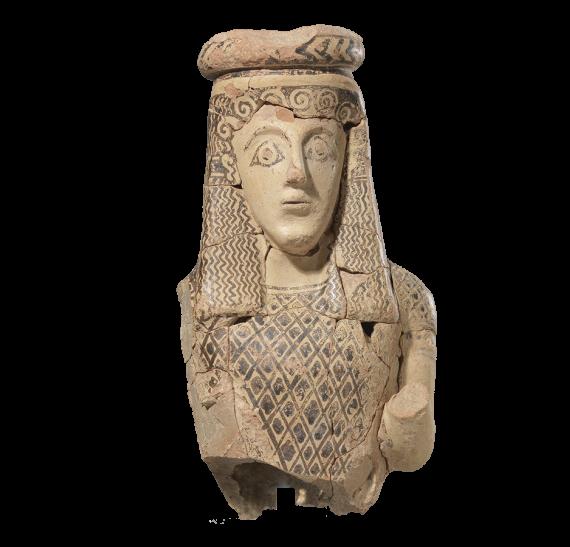 Δαιδαλικό αγαλμάτιο. © ΥΠΠΟΑ - Αρχαιολογικό Μουσείο Πάρου