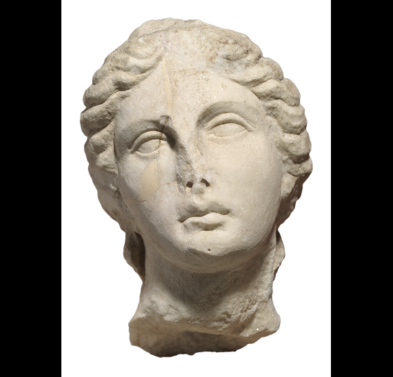 Marble head of Apollo from Thessaloniki (ΜΘ 1263). © Ministry of Culture and Sports - AMTh