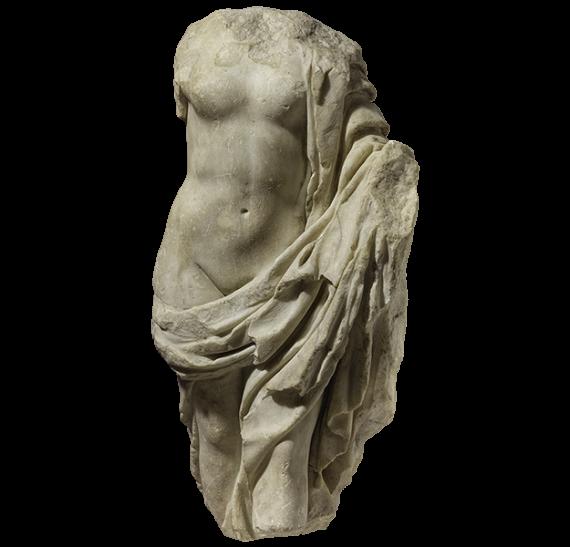 Μαρμάρινο αγαλμάτιο Νίκης. © ΥΠΠΟΑ-ΑΜΘ