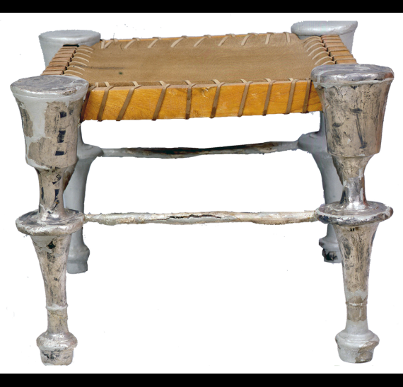 Silver feet stool (diphros) of the 4th c. BC © Ministry of Culture- AMTh