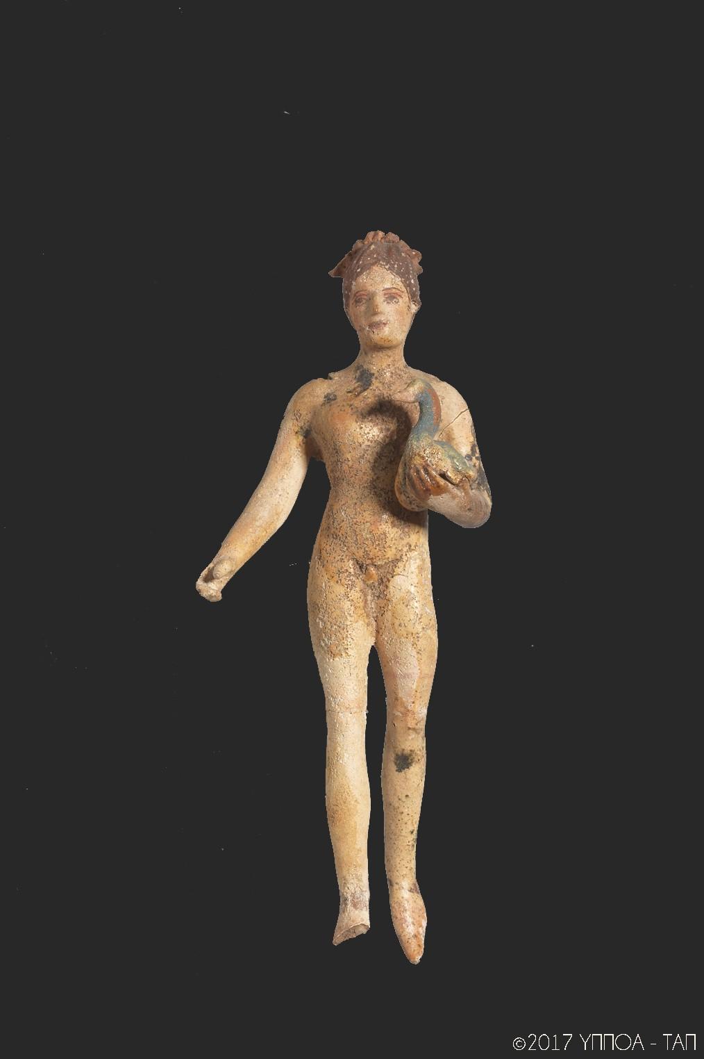 Ιπτάμενος έρωτας 350-300 π.Χ. Τύμβος Νικήσιανης Καβάλας.