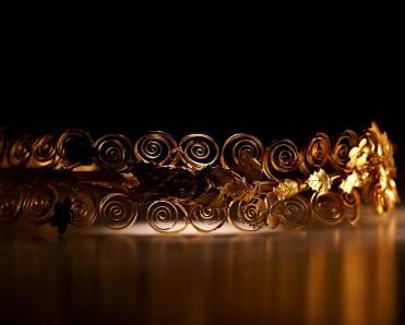 Χρυσό διάδημα. Λητή. Αρχές 3ου αι. π.Χ. ©2016 ΥΠΠΟΑ-ΤΑΠΑ