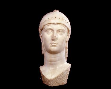 Τμήματα ακρόλιθου αγάλματος Αθηνάς τύπου Medici