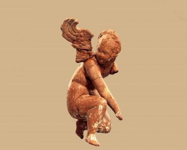 Σύμπλεγμα έρωτα και ψυχής. Θεσσαλονίκη, δυτικό νεκροταφείο 1ος αι. μ.Χ.