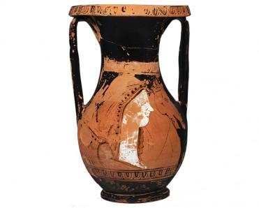 Πυξίδα σε σχήμα θαλασσινού κτενοειδούς οστράκου Τέλη 5ου - αρχές 4ου αι. π.Χ.