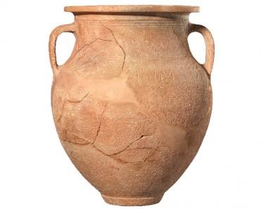 Ενεπίγραφος πιθαμφορέας των μέσων του 7ου αι. π.Χ. ©ΥΠΠΟΑ
